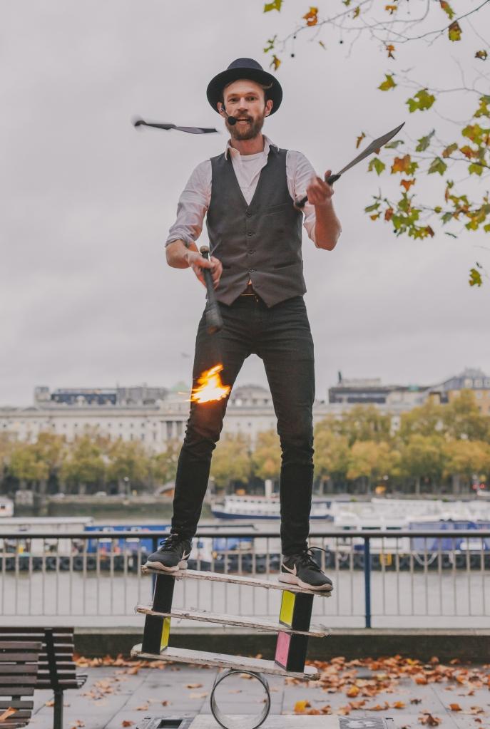 Richard Filby Juggling